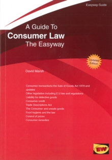 Guide to Consumer Law : The Easyway - 2016, Paperback