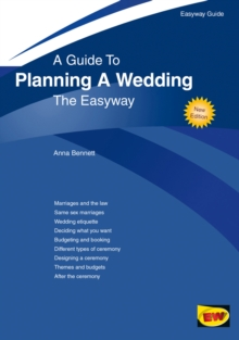 A Guide to Planning A Wedding : The Easyway, Paperback