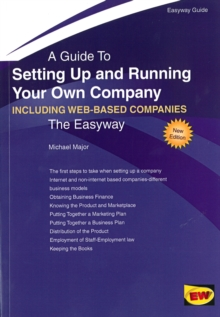 Setting Up and Running Your Own Company (Including Setting Up an Internet Business) : The Easyway, Paperback