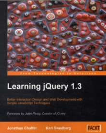Learning JQuery 1.3, Paperback Book