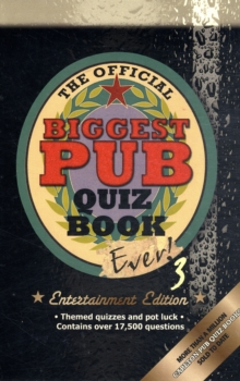 The Biggest Pub Quiz Book Ever! 3, Paperback