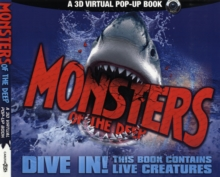 Monsters of the Deep : An Augmented Reality Book, Hardback