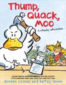 Thump, Quack, Moo, Paperback Book