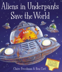 Aliens in Underpants Save the World, Mixed media product Book
