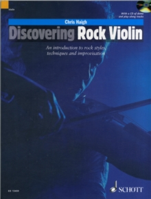 Discovering Rock Violin: An Introduction to Rock Styles, Techniques and Improvisation, Mixed media product