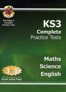 KS3 Complete Practice Tests - Science, Maths and English, Paperback