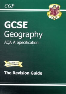 GCSE Geography AQA A Revision Guide (A*-G Course), Paperback Book