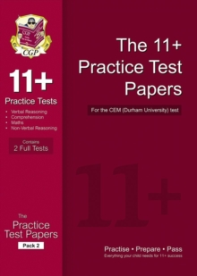 11+ Practice Tests for the CEM Test : Pack 2, Paperback