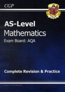 AS Maths AQA Complete Revision and Practice, Paperback Book