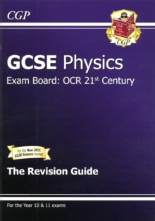 GCSE Physics OCR 21st Century Revision Guide (with Online Edition) (A*-G Course), Paperback