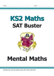 KS2 Maths - Mental Maths Buster (with Audio Tests), Paperback