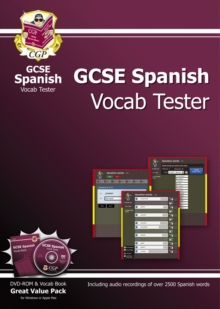 GCSE Spanish Interactive Vocab Tester - DVD-ROM and Vocab Book (A*-G Course), Mixed media product