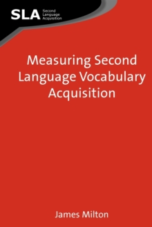 Measuring Second Language Vocabulary Acquisition, Paperback