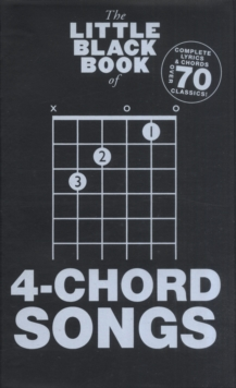 The Little Black Book of 4-Chord Songs, Paperback