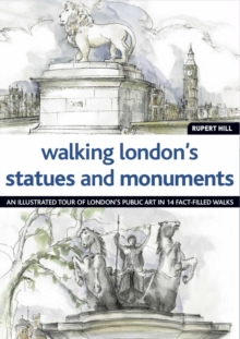 Walking London's Statues and Monuments, Paperback Book