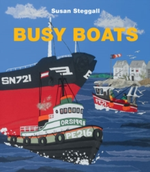 Busy Boats, Paperback