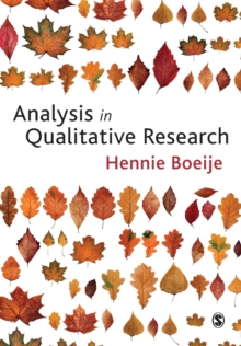 Analysis in Qualitative Research, Paperback