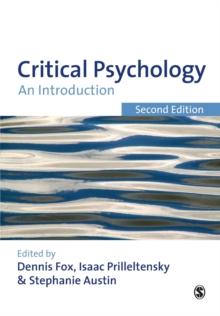 Critical Psychology : An Introduction, Paperback