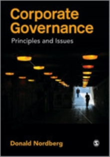 Corporate Governance : Principles and Issues, Paperback Book