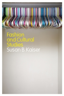 Fashion and Cultural Studies, Paperback