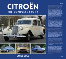 Citroen : The Complete Story, Hardback