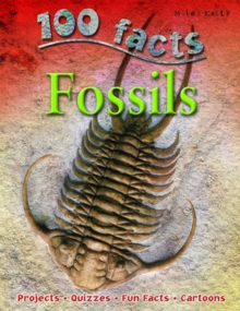 100 Facts on Fossils, Paperback