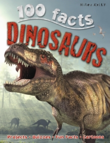 100 Facts Dinosaurs, Paperback Book