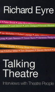 Talking Theatre, Paperback Book