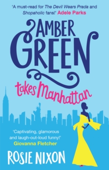 Amber Green Takes Manhattan, Paperback Book