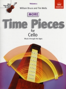 More Time Pieces for Cello : Music Through the Ages, Sheet music