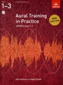 Aural Training in Practice, ABRSM Grades 1-3, with 2CDs, Sheet music