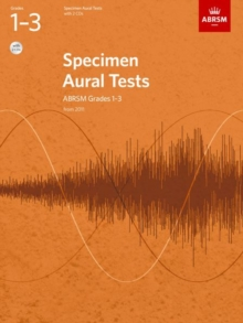 Specimen Aural Tests, Grades 1-3, with 2 CDs : from 2011, Sheet music Book