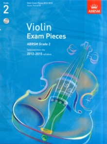 Violin Exam Pieces 2012-2015, ABRSM Grade 2 : Selected from the 2012-2015 Syllabus, Sheet music