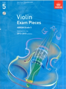 Violin Exam Pieces 2012-2015, ABRSM Grade 5, Score, Part & CD : Selected from the 2012-2015 Syllabus, Sheet music