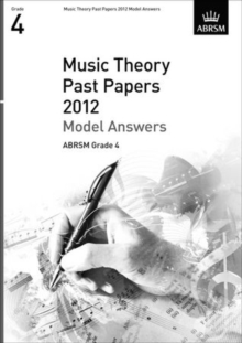 Music Theory Past Papers 2012 Model Answers, ABRSM Grade 4, Sheet music