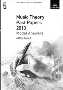 Music Theory Past Papers 2013 Model Answers, ABRSM Grade 5, Sheet music