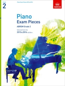 Piano Exam Pieces 2015 & 2016, Grade 2 : Selected from the 2015 & 2016 Syllabus, Sheet music