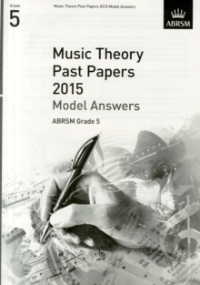 Music Theory Past Papers 2015 Model Answers, ABRSM Grade 5, Sheet music Book