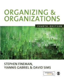 Organizing and Organizations, Paperback
