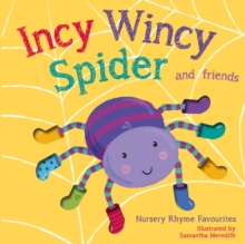 Incy Wincy Spider, Board book Book
