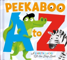 Peekaboo A to Z : An Alphabet Book with Bite!, Novelty book