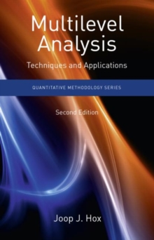 Multilevel Analysis : Techniques and Applications, Paperback