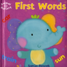 Animal Nursery: First Words, Hardback