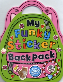 My Funky Sticker Backpack, Paperback Book