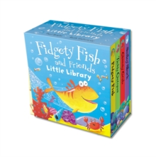 "Fidgety Fish and Friends : ""Tickly Octopus"", ""Smiley Shark"", ""Fidgety Fish"", ""Clickety Crab"", Novelty book"