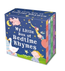 "My Little Box of Bedtime Rhymes : ""Twinkle Twinkle Little Star"", ""Star Light Star Bright"", ""Rock-a-bye Baby"", ""Hey Diddle Diddle"", Novelty book Book"
