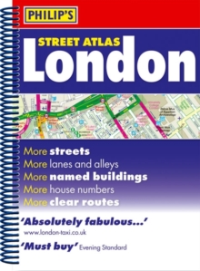 Philip's Street Atlas London, Spiral bound