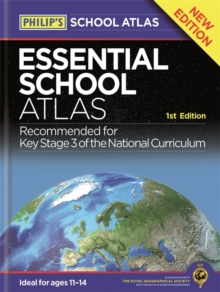 Philip's Essential School Atlas, Paperback