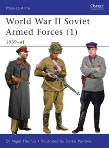 World War II Soviet Armed Forces : 1939-41 v. 1, Paperback