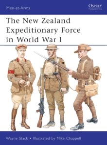 The New Zealand Expeditionary Force in World War I, Paperback